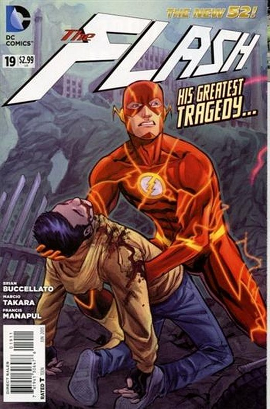 Cover of Flash (Vol 6) #19. One of 250,000 Vintage American Comics on sale from Krypton!
