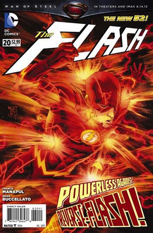 Cover of Flash (Vol 6) #20. One of 250,000 Vintage American Comics on sale from Krypton!