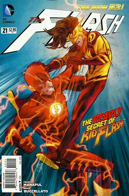 Cover of Flash (Vol 6) #21. One of 250,000 Vintage American Comics on sale from Krypton!