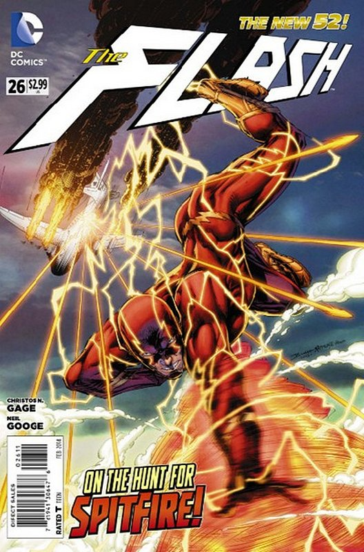 Cover of Flash (Vol 6) #26. One of 250,000 Vintage American Comics on sale from Krypton!