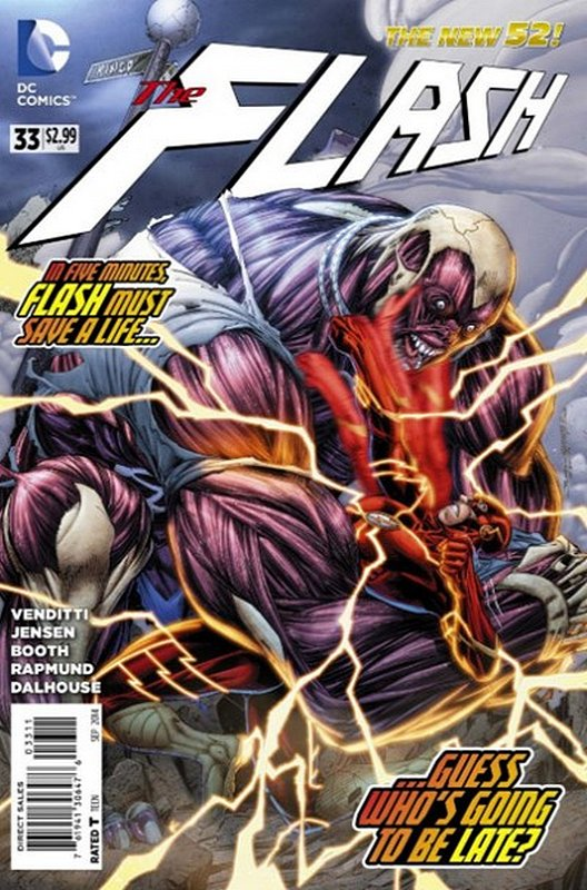 Cover of Flash (Vol 6) #33. One of 250,000 Vintage American Comics on sale from Krypton!