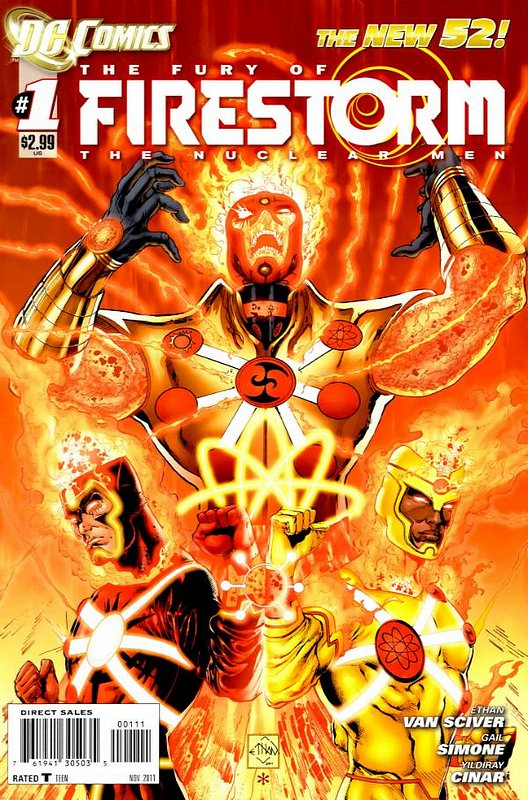 Cover of Firestorm (Vol 4) the Fury of #1. One of 250,000 Vintage American Comics on sale from Krypton!