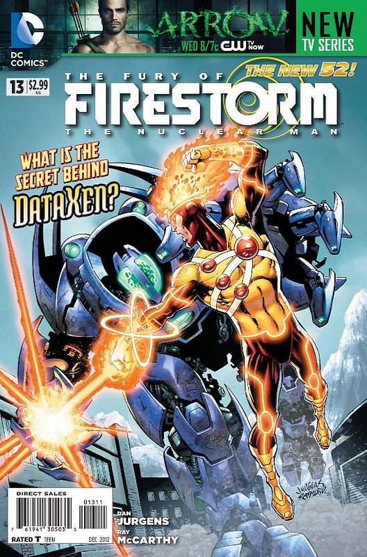 Cover of Firestorm (Vol 4) the Fury of #13. One of 250,000 Vintage American Comics on sale from Krypton!