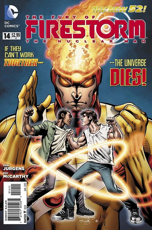Cover of Firestorm (Vol 4) the Fury of #14. One of 250,000 Vintage American Comics on sale from Krypton!