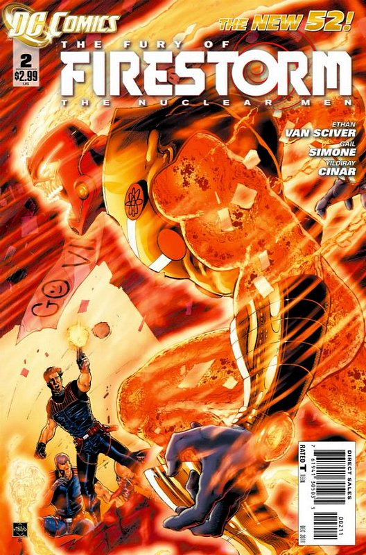 Cover of Firestorm (Vol 4) the Fury of #2. One of 250,000 Vintage American Comics on sale from Krypton!