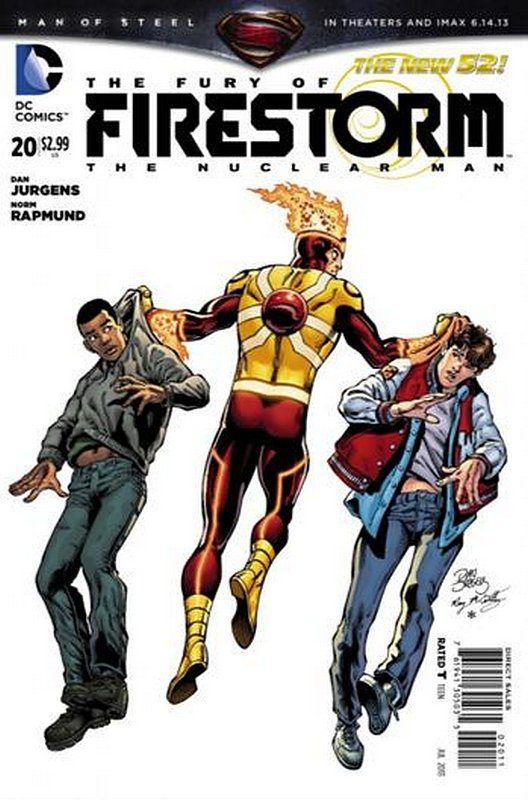Cover of Firestorm (Vol 4) the Fury of #20. One of 250,000 Vintage American Comics on sale from Krypton!