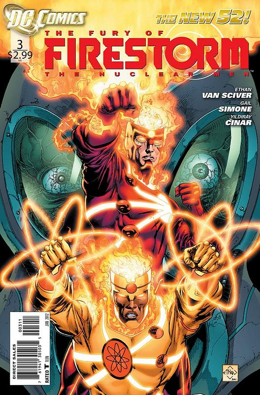 Cover of Firestorm (Vol 4) the Fury of #3. One of 250,000 Vintage American Comics on sale from Krypton!