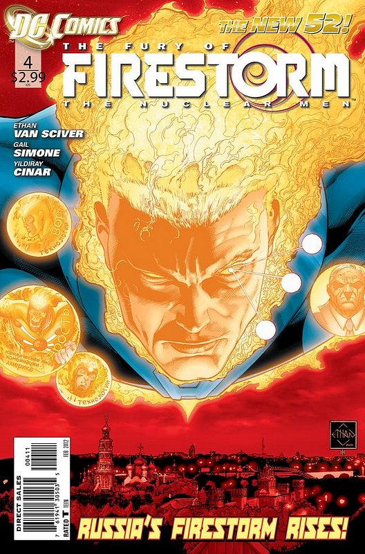 Cover of Firestorm (Vol 4) the Fury of #4. One of 250,000 Vintage American Comics on sale from Krypton!