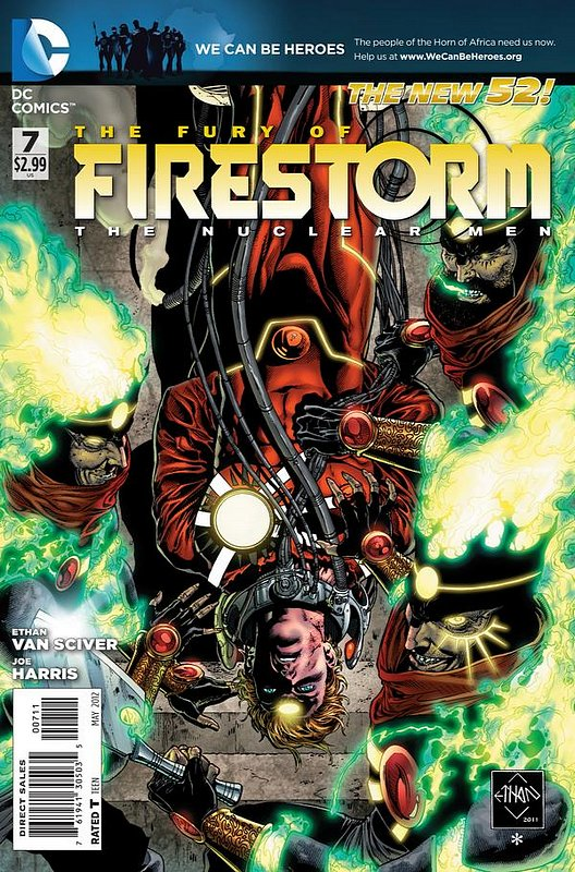 Cover of Firestorm (Vol 4) the Fury of #7. One of 250,000 Vintage American Comics on sale from Krypton!