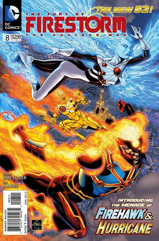 Cover of Firestorm (Vol 4) the Fury of #8. One of 250,000 Vintage American Comics on sale from Krypton!