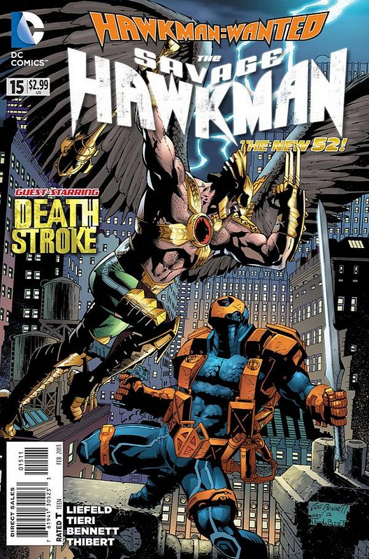 Cover of Savage Hawkman (Vol 1) #15. One of 250,000 Vintage American Comics on sale from Krypton!