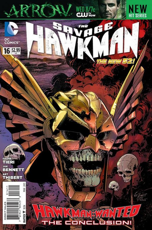 Cover of Savage Hawkman (Vol 1) #16. One of 250,000 Vintage American Comics on sale from Krypton!