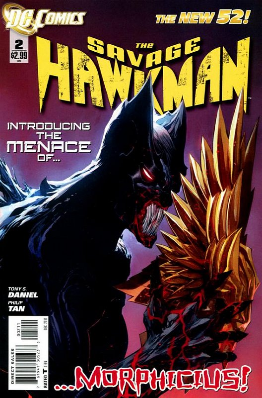 Cover of Savage Hawkman (Vol 1) #2. One of 250,000 Vintage American Comics on sale from Krypton!