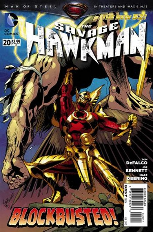 Cover of Savage Hawkman (Vol 1) #20. One of 250,000 Vintage American Comics on sale from Krypton!