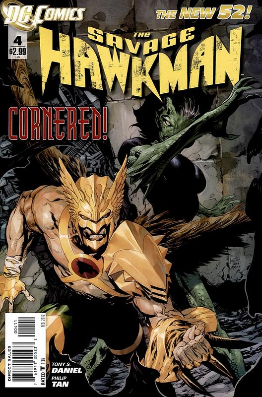 Cover of Savage Hawkman (Vol 1) #4. One of 250,000 Vintage American Comics on sale from Krypton!