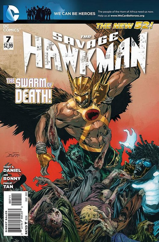 Cover of Savage Hawkman (Vol 1) #7. One of 250,000 Vintage American Comics on sale from Krypton!
