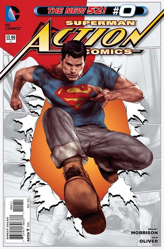 Cover of Action Comics (Vol 2) #0. One of 250,000 Vintage American Comics on sale from Krypton!