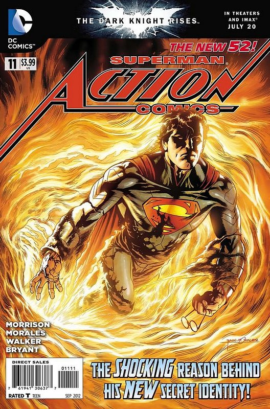 Cover of Action Comics (Vol 2) #11. One of 250,000 Vintage American Comics on sale from Krypton!