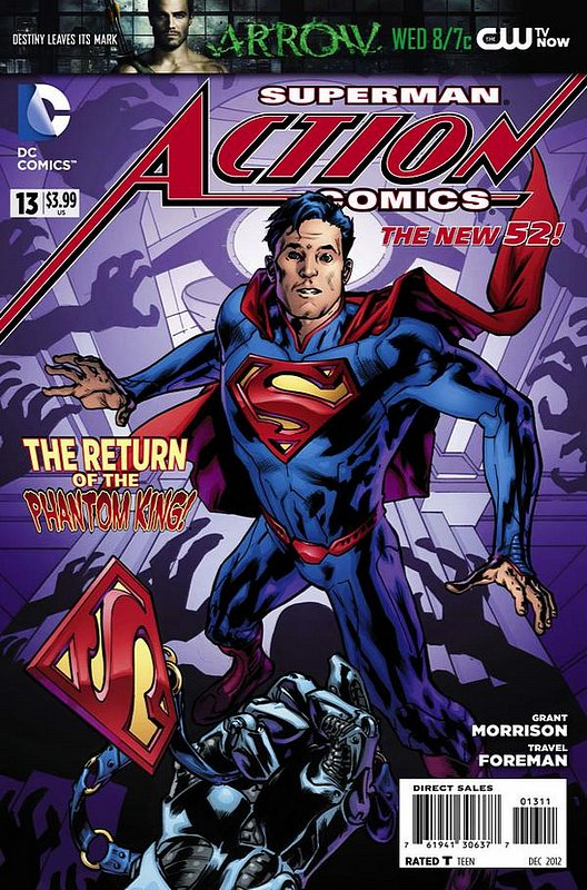 Cover of Action Comics (Vol 2) #13. One of 250,000 Vintage American Comics on sale from Krypton!