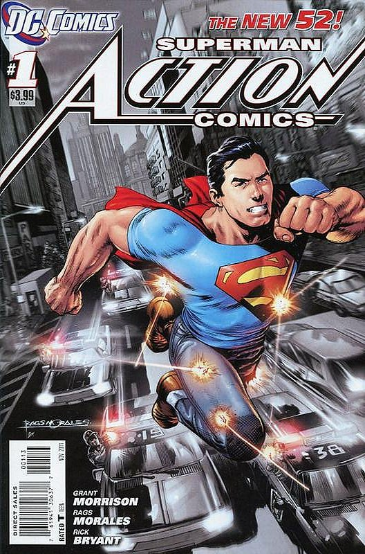 Cover of Action Comics (Vol 2) #1. One of 250,000 Vintage American Comics on sale from Krypton!