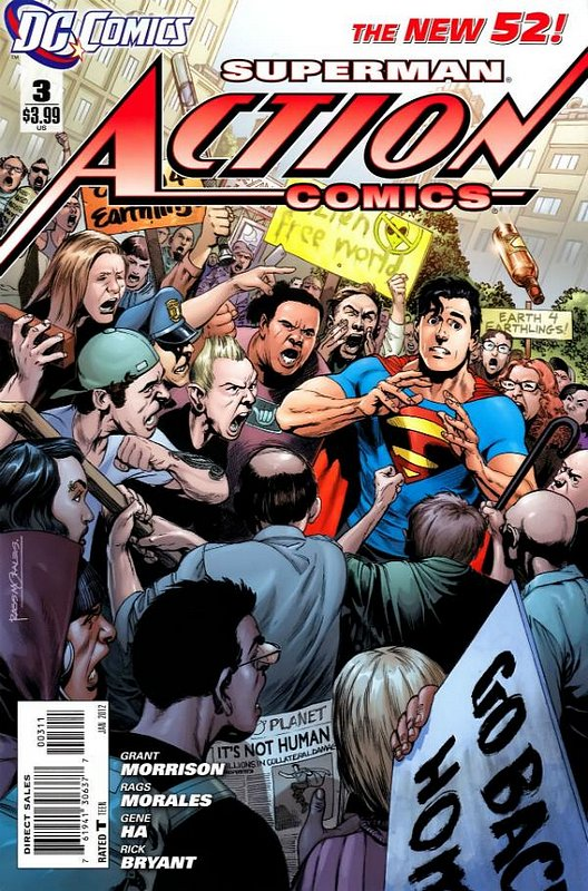 Cover of Action Comics (Vol 2) #3. One of 250,000 Vintage American Comics on sale from Krypton!