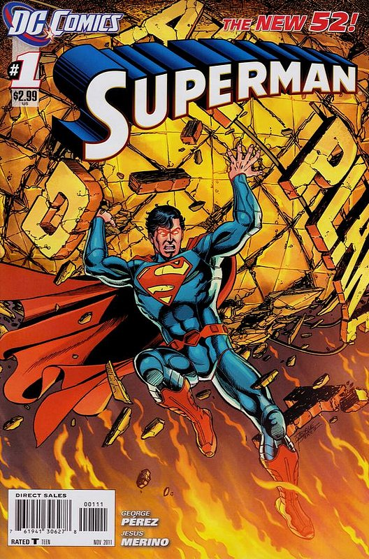 Cover of Superman (Vol 4) #1. One of 250,000 Vintage American Comics on sale from Krypton!