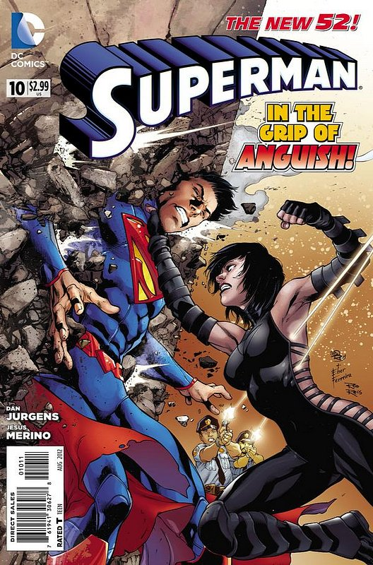 Cover of Superman (Vol 4) #10. One of 250,000 Vintage American Comics on sale from Krypton!