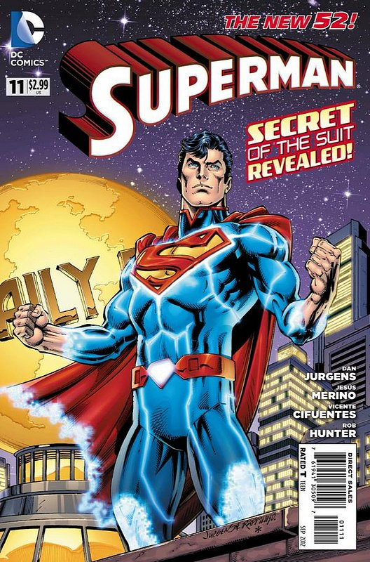 Cover of Superman (Vol 4) #11. One of 250,000 Vintage American Comics on sale from Krypton!