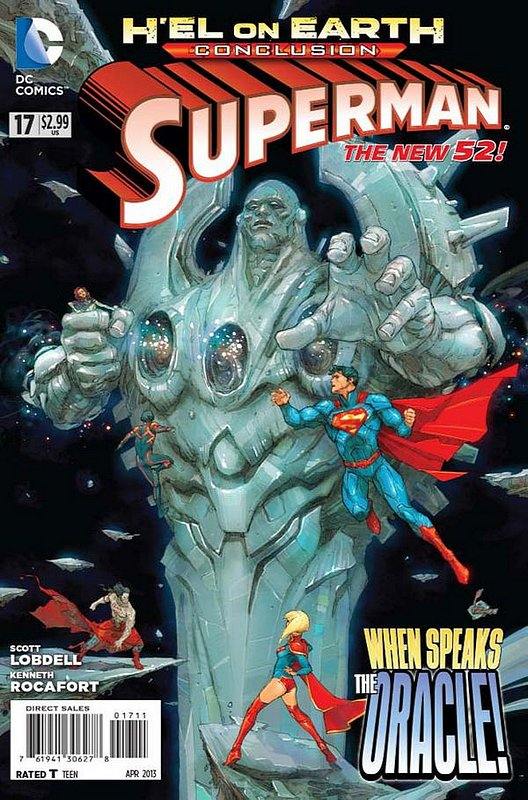 Cover of Superman (Vol 4) #17. One of 250,000 Vintage American Comics on sale from Krypton!