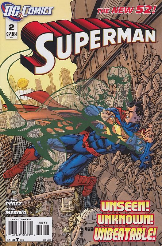 Cover of Superman (Vol 4) #2. One of 250,000 Vintage American Comics on sale from Krypton!