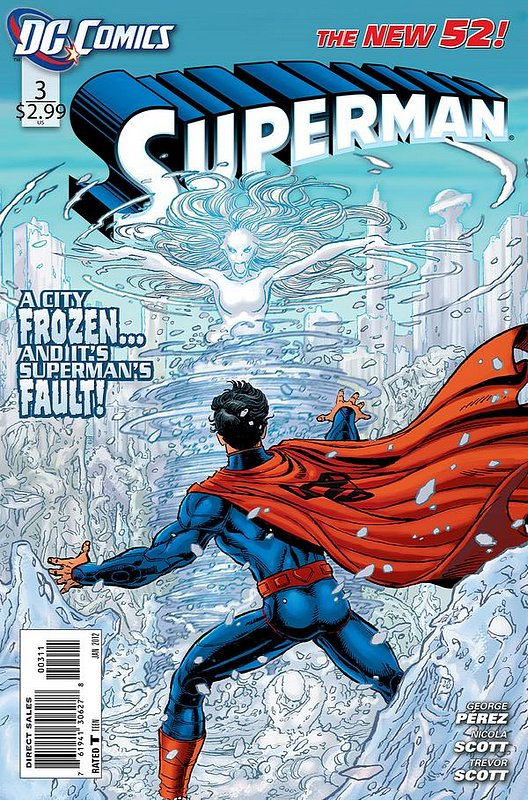 Cover of Superman (Vol 4) #3. One of 250,000 Vintage American Comics on sale from Krypton!