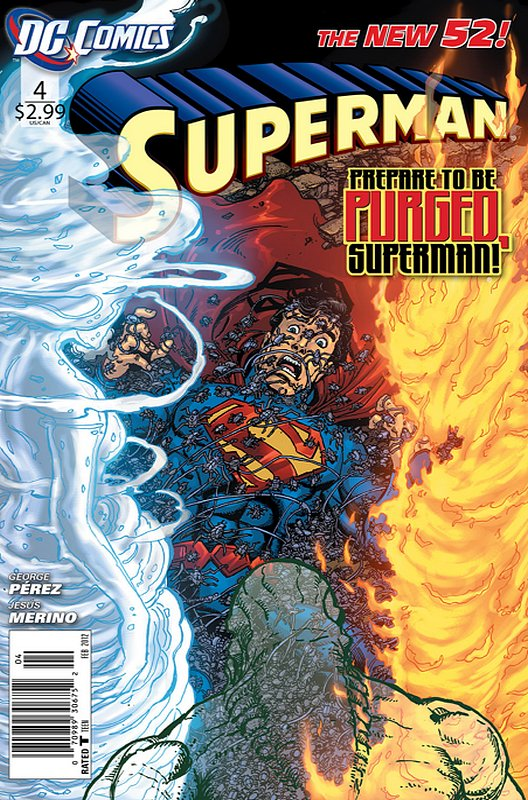 Cover of Superman (Vol 4) #4. One of 250,000 Vintage American Comics on sale from Krypton!