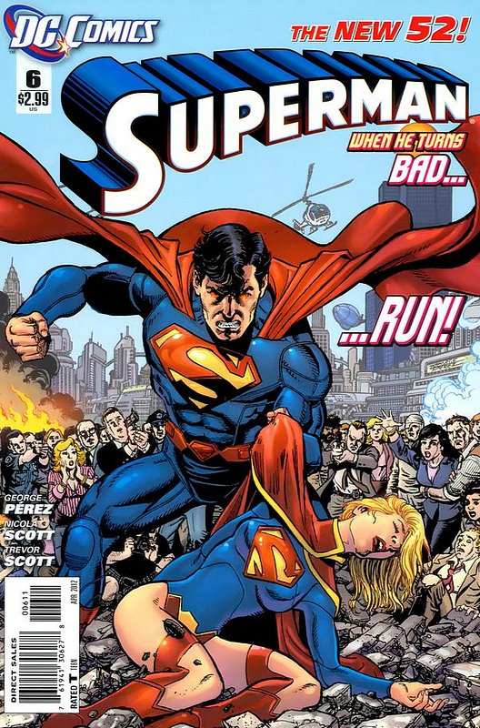 Cover of Superman (Vol 4) #6. One of 250,000 Vintage American Comics on sale from Krypton!