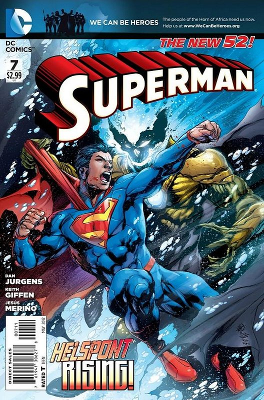 Cover of Superman (Vol 4) #7. One of 250,000 Vintage American Comics on sale from Krypton!