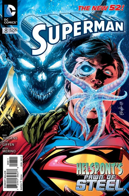 Cover of Superman (Vol 4) #8. One of 250,000 Vintage American Comics on sale from Krypton!