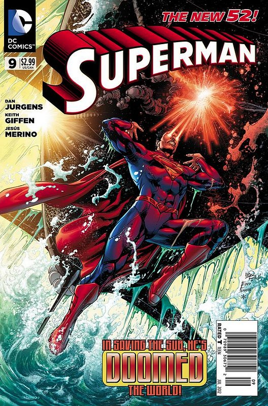 Cover of Superman (Vol 4) #9. One of 250,000 Vintage American Comics on sale from Krypton!