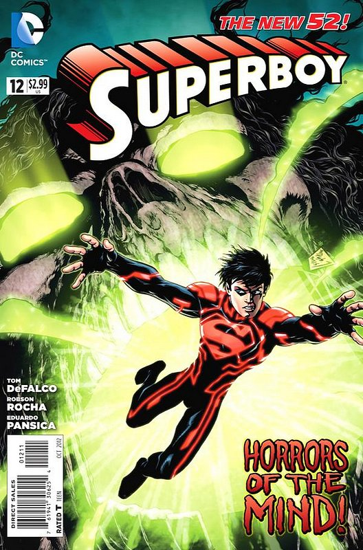 Cover of Superboy (Vol 5) #12. One of 250,000 Vintage American Comics on sale from Krypton!