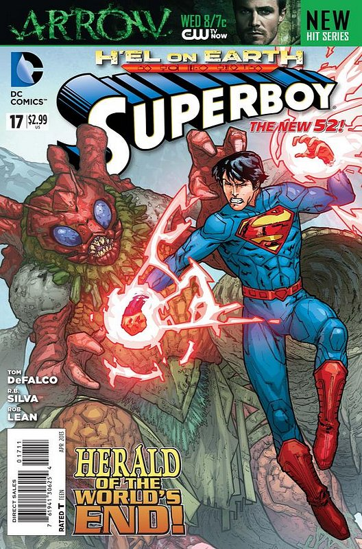 Cover of Superboy (Vol 5) #17. One of 250,000 Vintage American Comics on sale from Krypton!