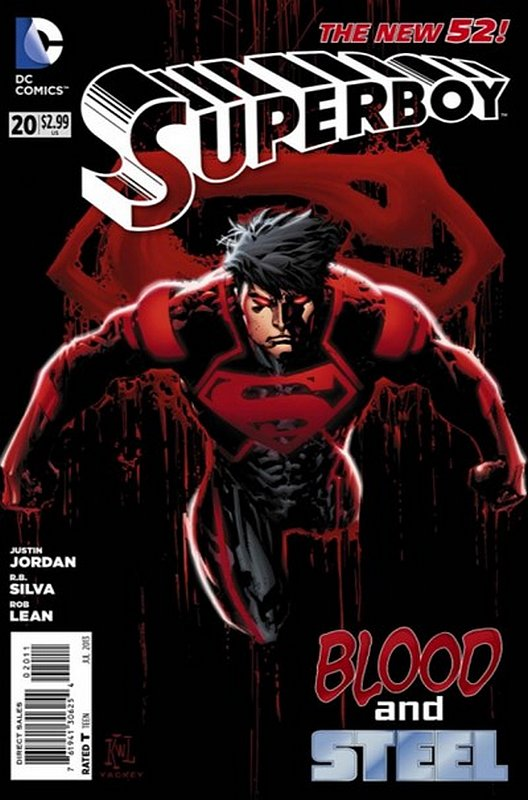 Cover of Superboy (Vol 5) #20. One of 250,000 Vintage American Comics on sale from Krypton!