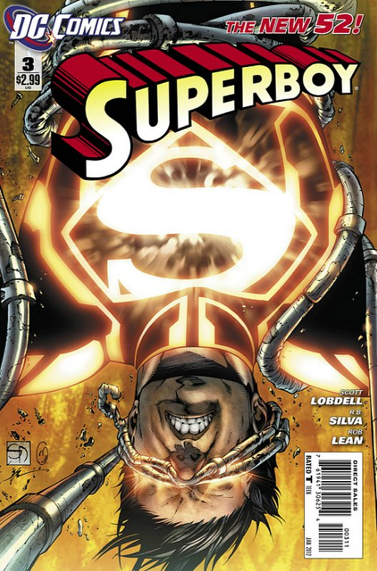 Cover of Superboy (Vol 5) #3. One of 250,000 Vintage American Comics on sale from Krypton!
