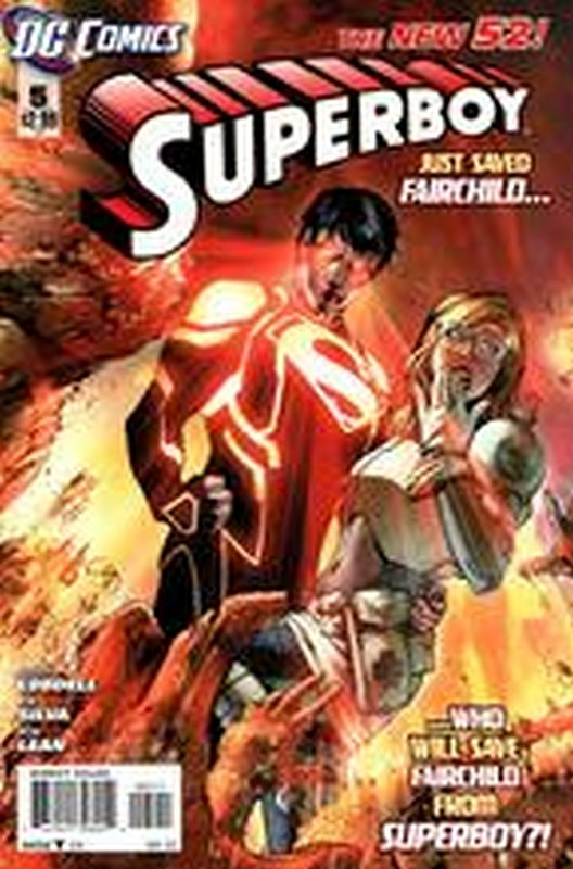 Cover of Superboy (Vol 5) #5. One of 250,000 Vintage American Comics on sale from Krypton!