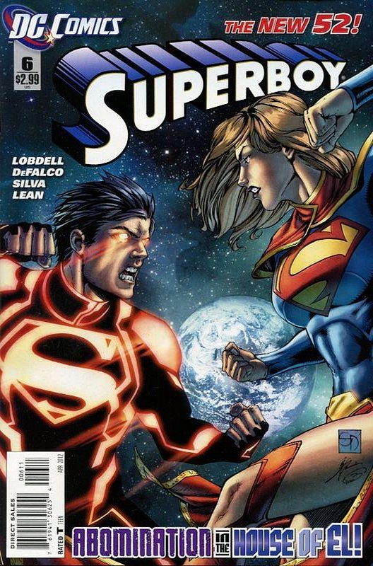Cover of Superboy (Vol 5) #6. One of 250,000 Vintage American Comics on sale from Krypton!