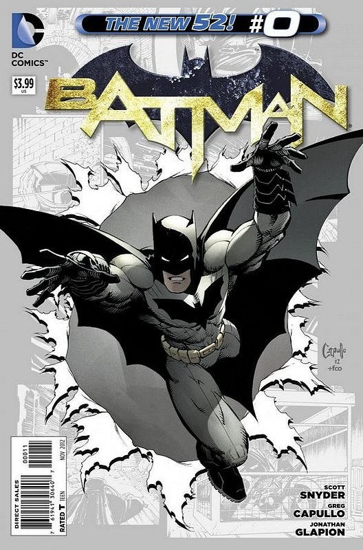 Cover of Batman (Vol 2) #0. One of 250,000 Vintage American Comics on sale from Krypton!