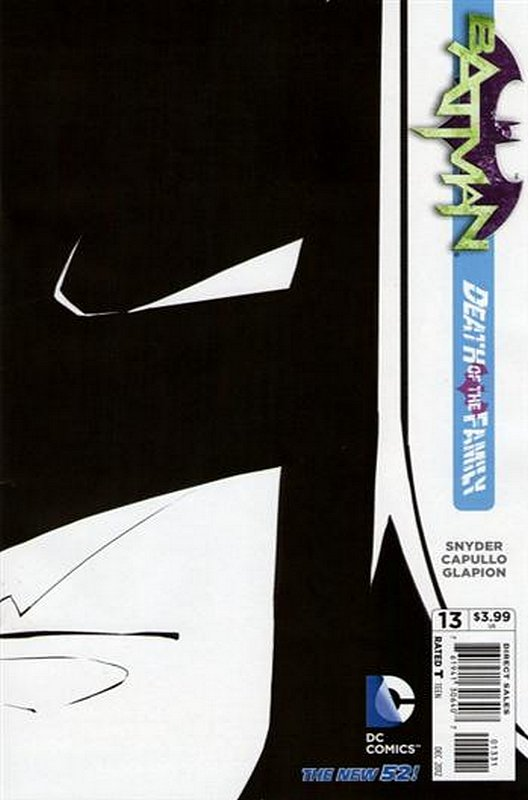 Cover of Batman (Vol 2) #13. One of 250,000 Vintage American Comics on sale from Krypton!