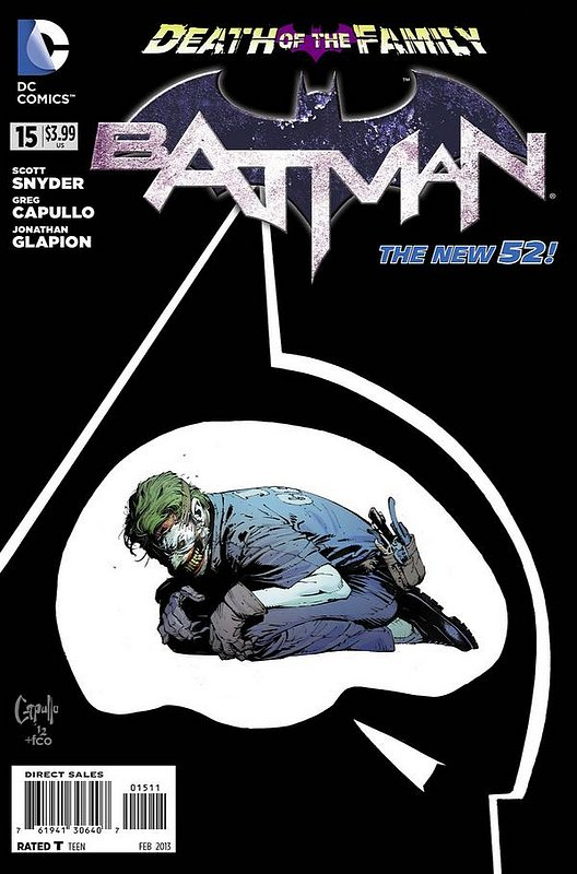 Cover of Batman (Vol 2) #15. One of 250,000 Vintage American Comics on sale from Krypton!