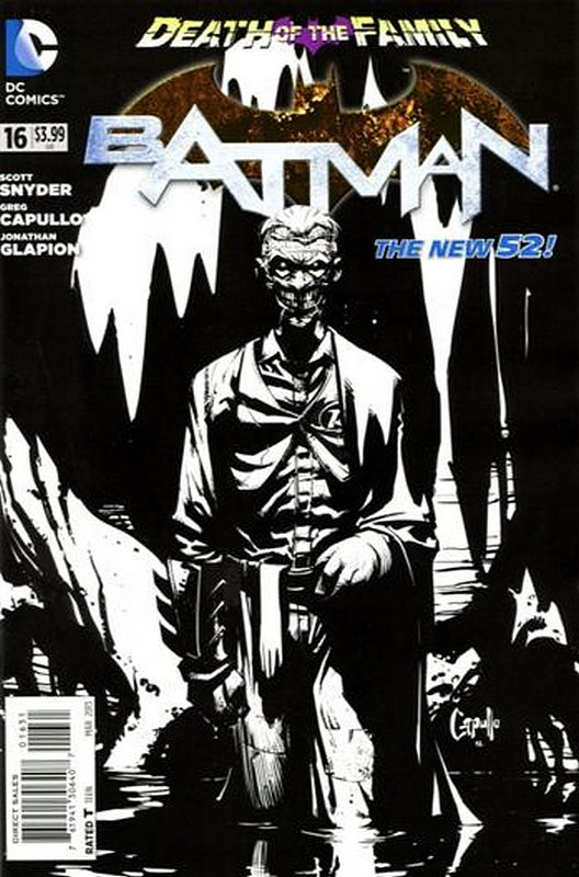Cover of Batman (Vol 2) #16. One of 250,000 Vintage American Comics on sale from Krypton!
