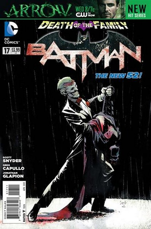 Cover of Batman (Vol 2) #17. One of 250,000 Vintage American Comics on sale from Krypton!