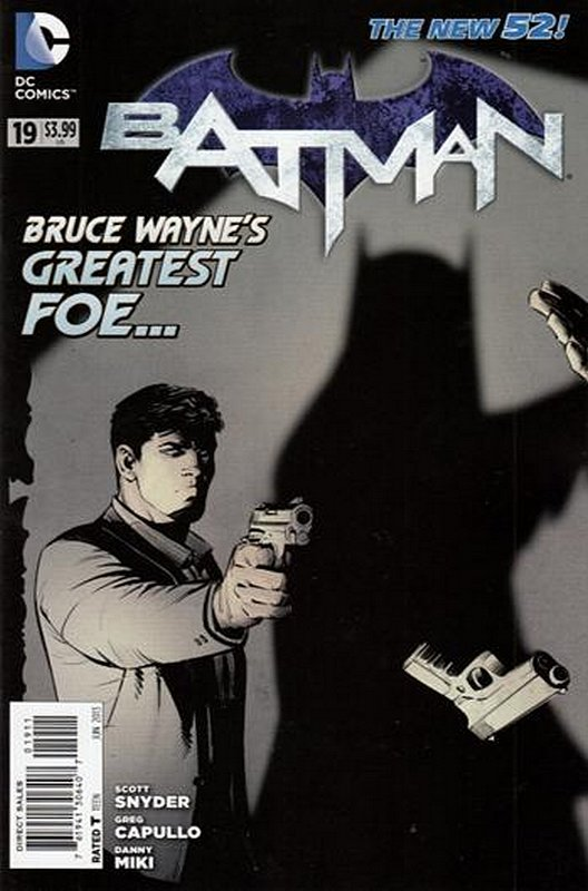 Cover of Batman (Vol 2) #19. One of 250,000 Vintage American Comics on sale from Krypton!
