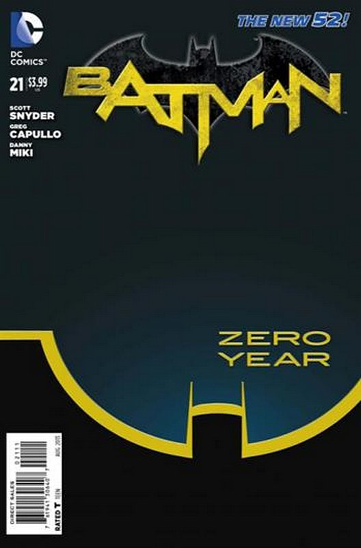 Cover of Batman (Vol 2) #21. One of 250,000 Vintage American Comics on sale from Krypton!