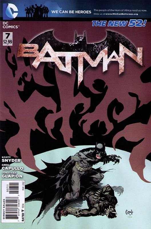 Cover of Batman (Vol 2) #7. One of 250,000 Vintage American Comics on sale from Krypton!
